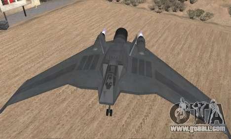 StarGate F-302 for GTA San Andreas