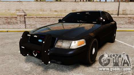 Ford Crown Victoria Stealth [ELS] for GTA 4