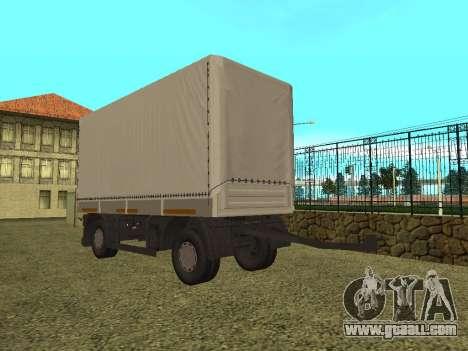 Trailer for Kamaz 5410 for GTA San Andreas