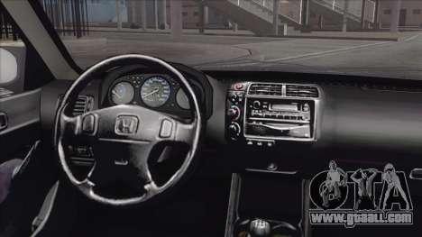Honda Civic Tuning for GTA San Andreas right view