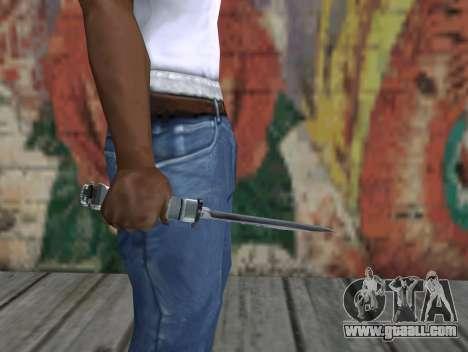 Knife of S.T.A.L.K.E.R. for GTA San Andreas third screenshot