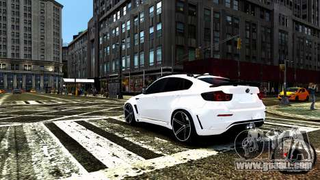 BMW X6 M Hamann 2013 Vossen for GTA 4 engine
