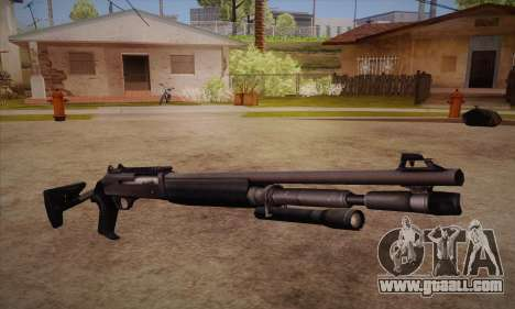The shotgun from the Left 4 Dead 2 for GTA San Andreas
