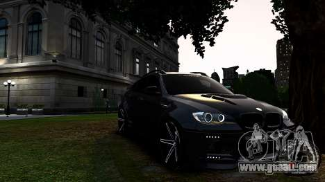 BMW X6 M Hamann 2013 Vossen for GTA 4 left view