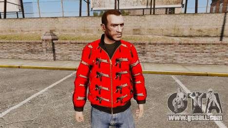 Windbreaker-Uzi- for GTA 4