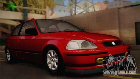 Honda Civic 1.4is TMC for GTA San Andreas