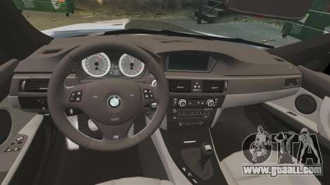 BMW M3 E92 for GTA 4 inner view