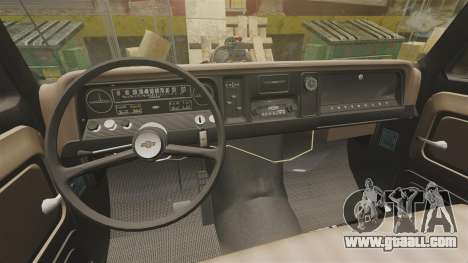Chevrolet Tow truck rusty Rat rod for GTA 4 inner view