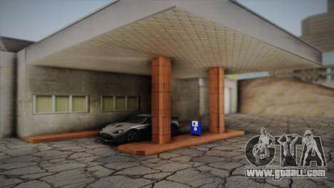 Garage in Dorothy for GTA San Andreas third screenshot