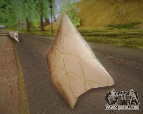 Pillow for GTA San Andreas second screenshot
