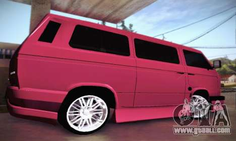 Volkswagen Transporter T2 Tuning for GTA San Andreas side view