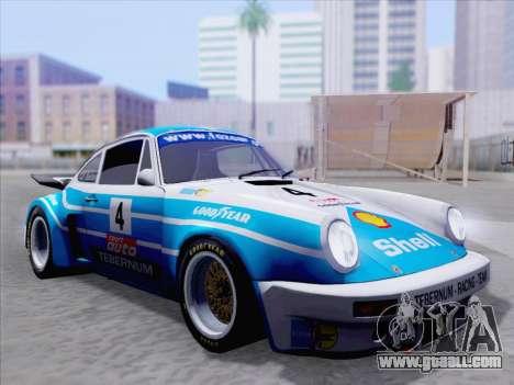 Porsche 911 RSR 3.3 skinpack 1 for GTA San Andreas interior