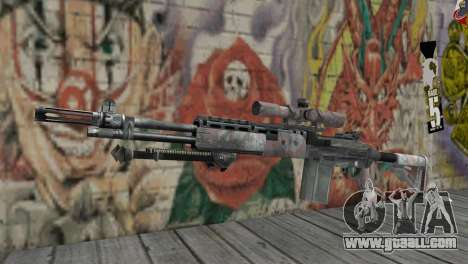 M14 EBR for GTA San Andreas