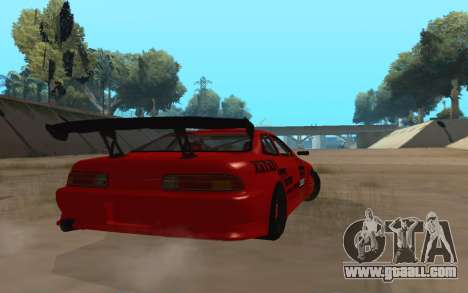 Toyota Soarer for GTA San Andreas back left view