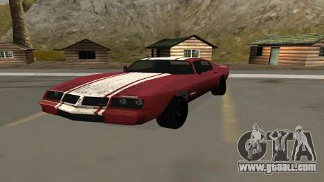 Phoenix of GTA V for GTA San Andreas
