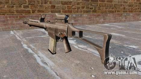 HK G36 assault rifle for GTA 4 second screenshot