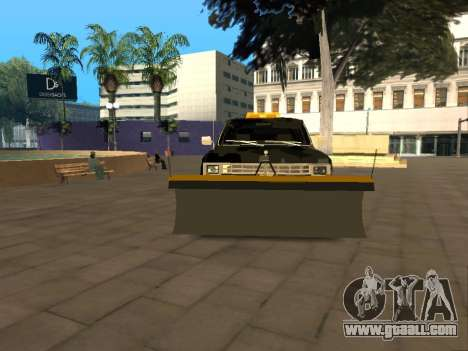 Chevrolet Blazer for GTA San Andreas back view