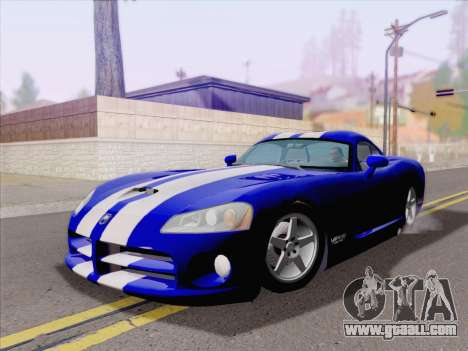 Dodge Viper SRT-10 Coupe for GTA San Andreas left view