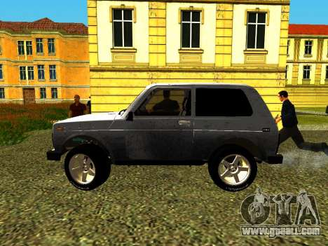 VAZ 21214 for GTA San Andreas left view