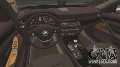 BMW 550d Touring Metropolitan Police [ELS] for GTA 4 side view
