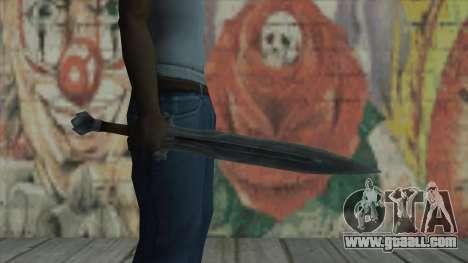 The imperial sword for GTA San Andreas third screenshot