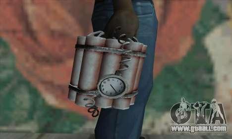 Dynamite for GTA San Andreas third screenshot