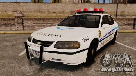Chevrolet Impala 2003 LCPD for GTA 4