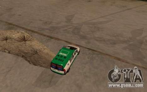 Mercedes-Benz Vito Ambulancia ACHS 2012 for GTA San Andreas right view