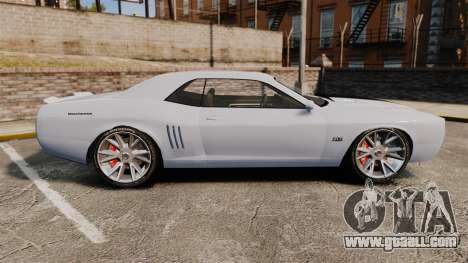 GTA V Declasse Gauntlet ZL1 2014 Facelift for GTA 4 left view