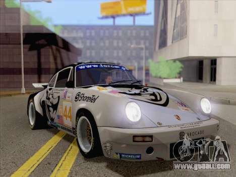 Porsche 911 RSR 3.3 skinpack 2 for GTA San Andreas left view