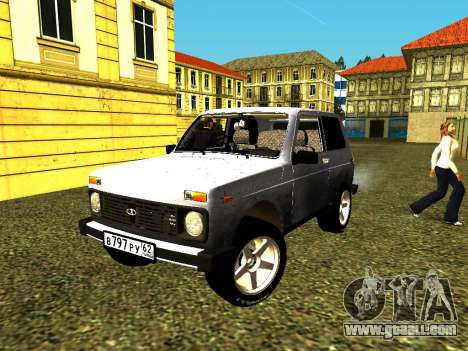 VAZ 21214 for GTA San Andreas