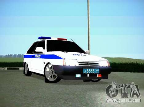 VAZ 2108 DPS for GTA San Andreas left view