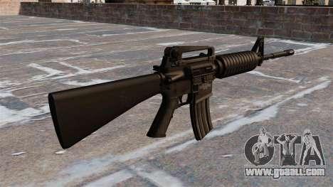 Automatic Colt M4A1 carbine for GTA 4 second screenshot
