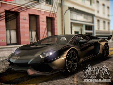 Lamborghini Aventador LP720 for GTA San Andreas