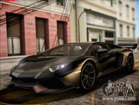 Lamborghini Aventador LP720 for GTA San Andreas
