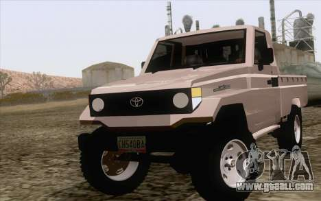 Toyota Fj70 2007 Pick Up for GTA San Andreas