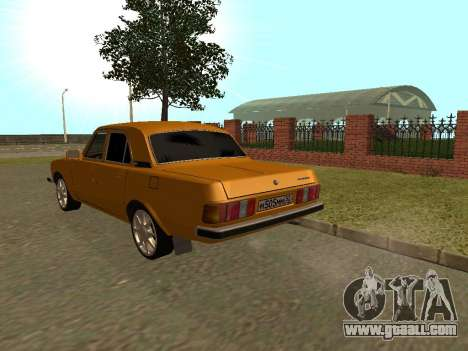GAZ 3102 Volga for GTA San Andreas back left view