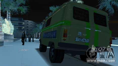 UAZ-3741 Collection for GTA Vice City back left view