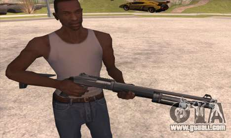 The shotgun from the Left 4 Dead 2 for GTA San Andreas third screenshot