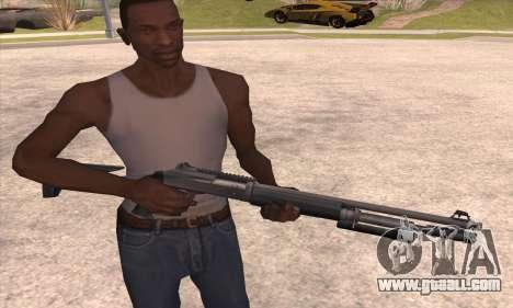 The shotgun from the Left 4 Dead 2 for GTA San Andreas third screenshot