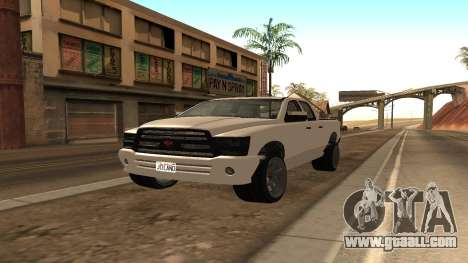 Bison from GTA 5 for GTA San Andreas