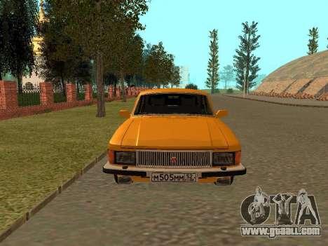 GAZ 3102 Volga for GTA San Andreas right view