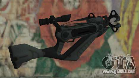 Crossbow of Timeshift for GTA San Andreas second screenshot
