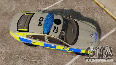 Jaguar XFR 2010 West Midlands Police [ELS] for GTA 4 right view