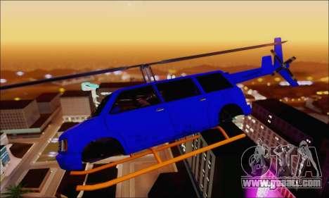 Fun Maverick for GTA San Andreas left view