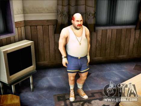 The coach of the Bully for GTA San Andreas second screenshot