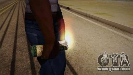 Molotov cocktail of Max Payne for GTA San Andreas third screenshot