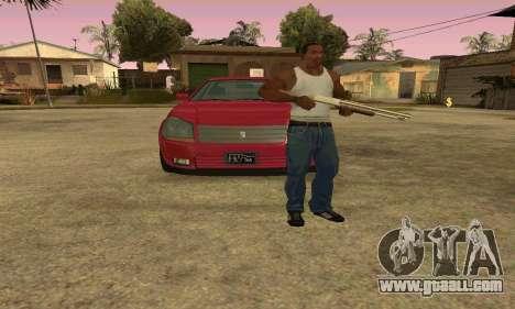 Presidente of GTA IV for GTA San Andreas inner view