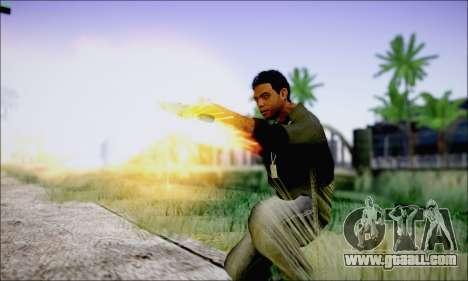 Lamar Davis GTA V for GTA San Andreas forth screenshot