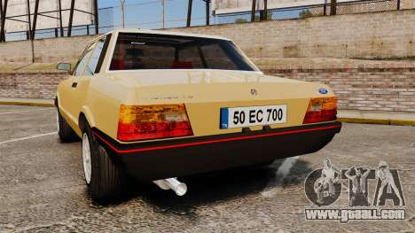Ford Taunus GLS v2.0 for GTA 4 back left view